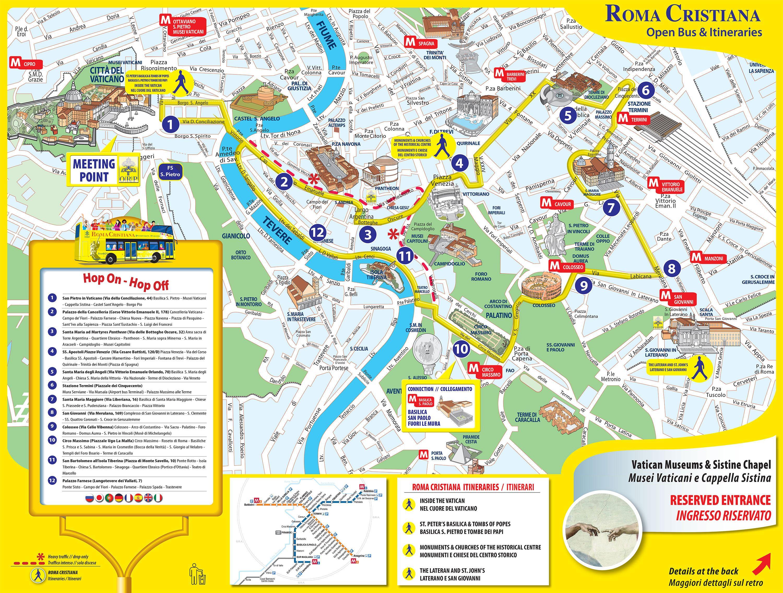 Monty Rzym Mapa Monti W Rzymie Lazio Wlochy